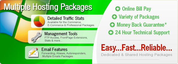 Multiple Hosting Packages